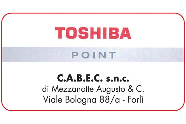 C.a.b.e.c. Snc Toshiba Point